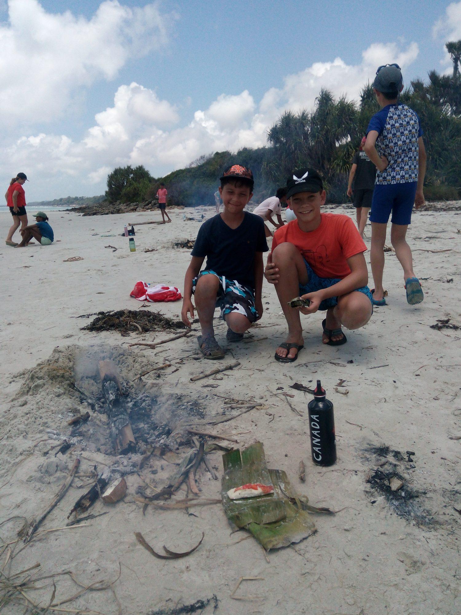 School Trip beach Survival