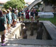 School Trip Slave Monument, Zanzibar