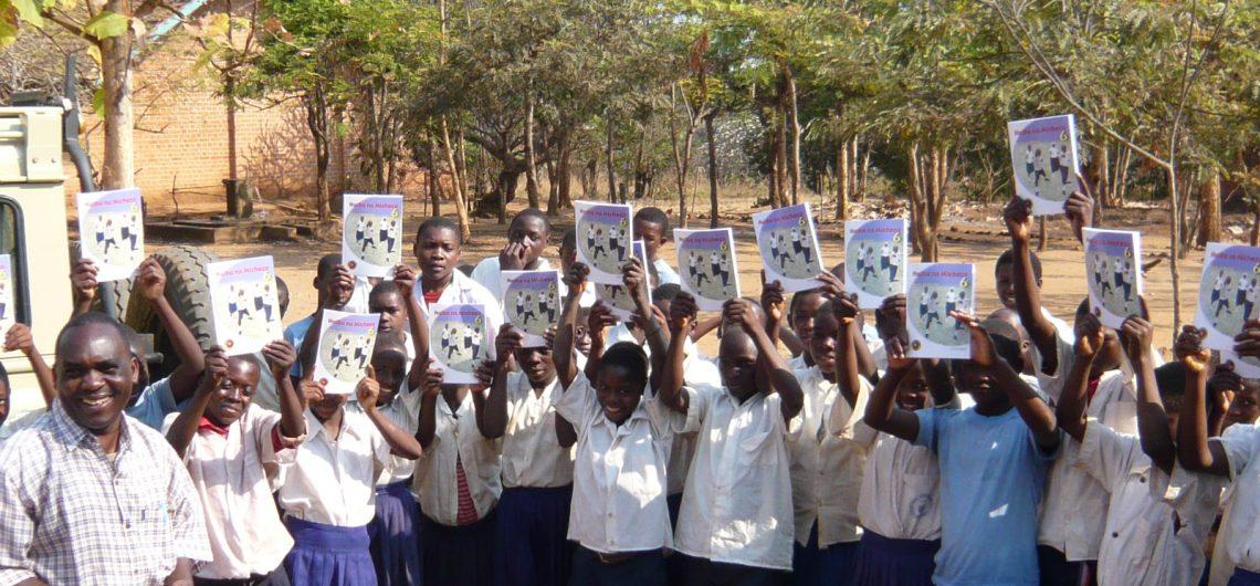 Itete children books donated by Aspire UK
