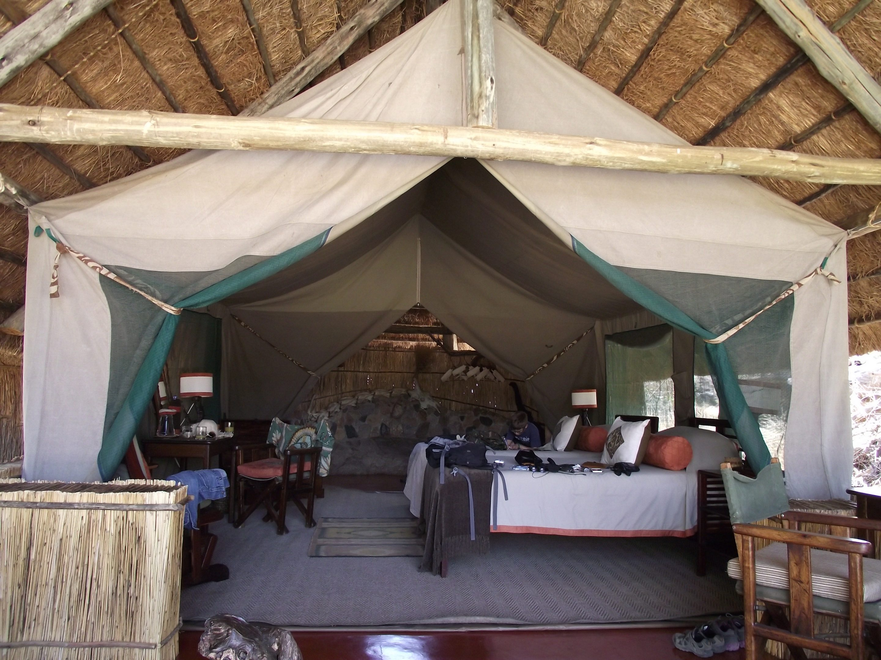 Room Mwagusi Luxury Camp