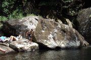 Sanje Base pool, Udzungwa Mountains