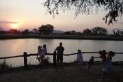 Sunset Hippo Pools, Mikumi National Park