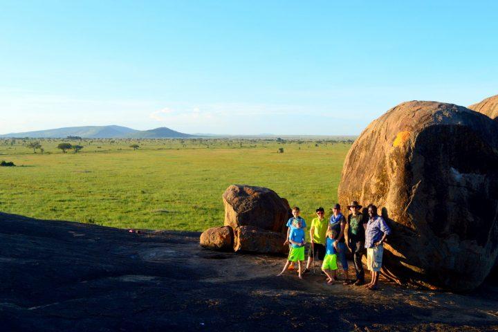 Serengeti from Masai Kopjes