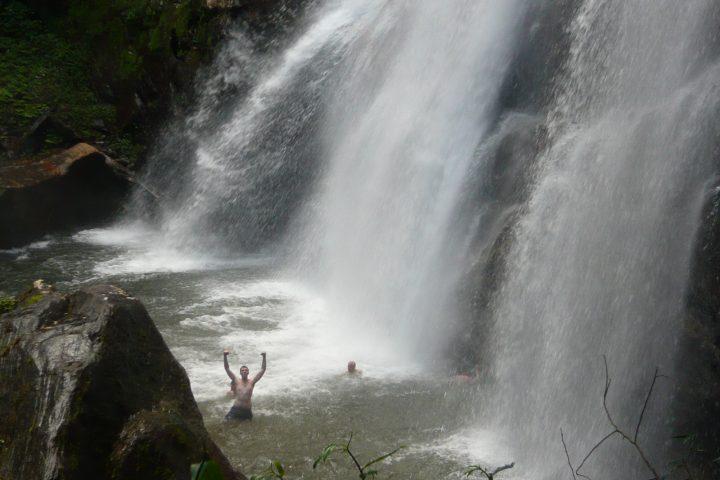 Sanje upper falls, Udzungwa Mountains