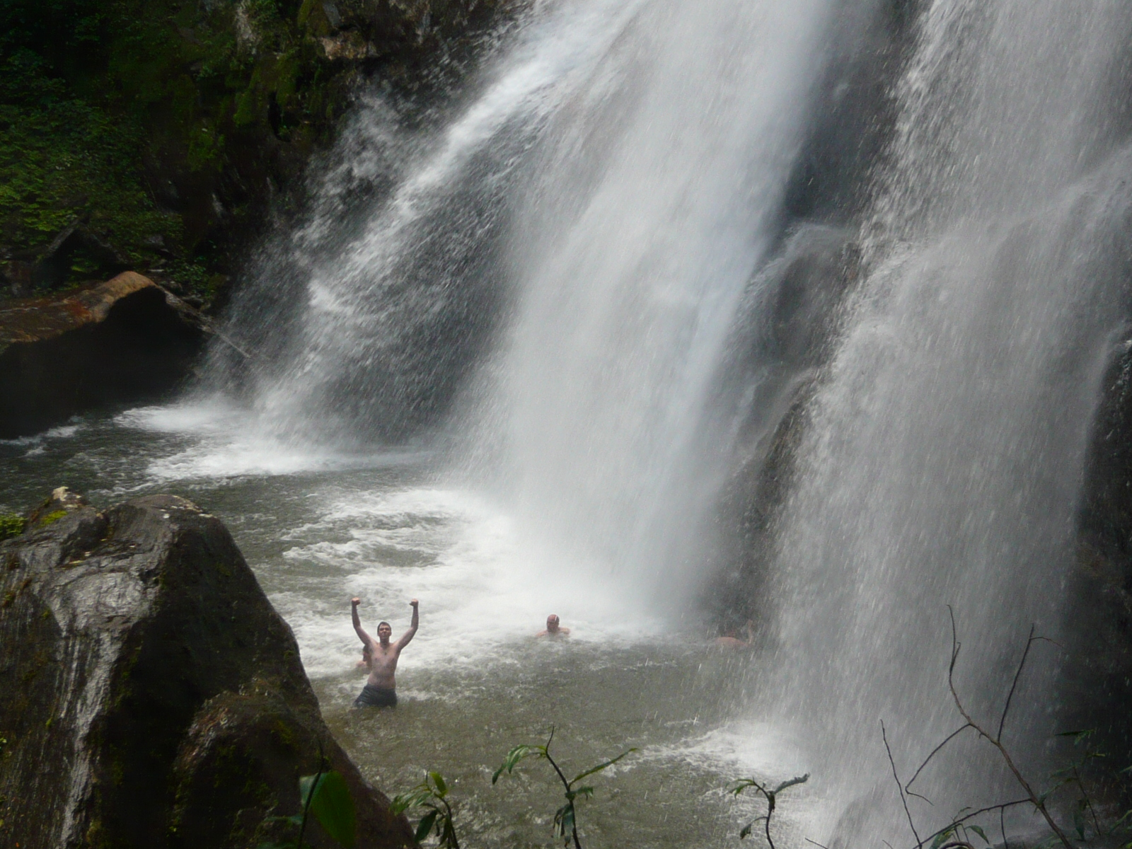 Sanje upper falls, Udzungwa Mountains