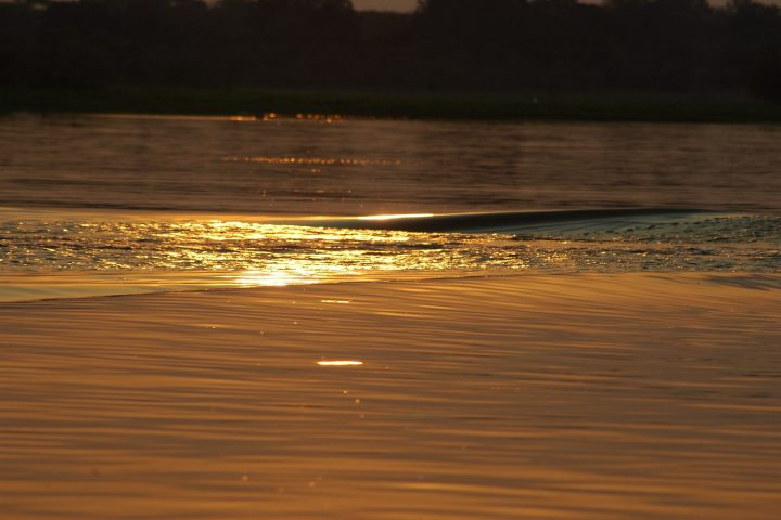 Sunset on the Rufiji