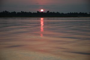 Sunset on the Rufiji