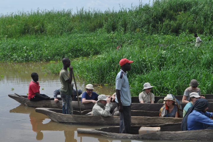 Loading the canoe